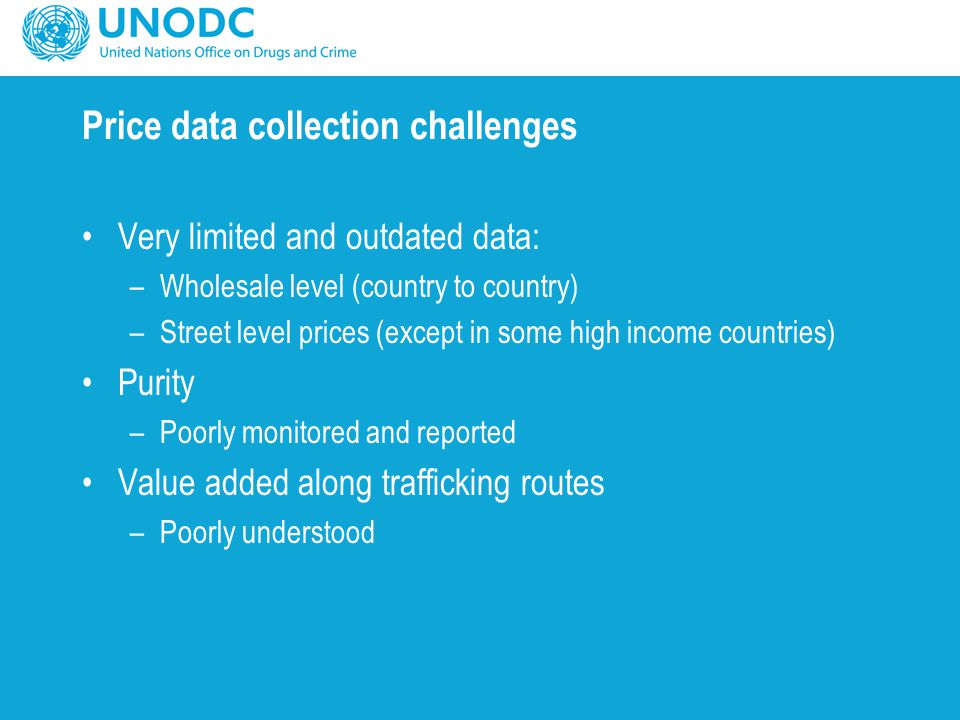 Price data collection challenges