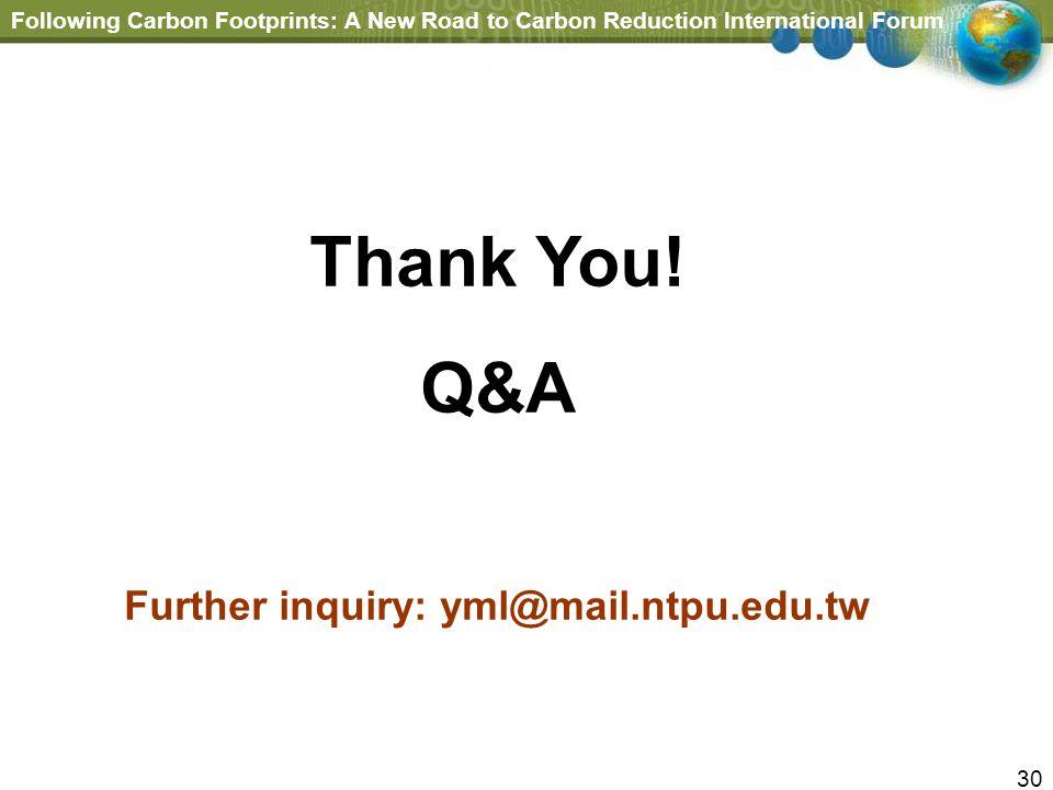 Further inquiry: yml@mail.ntpu.edu.tw