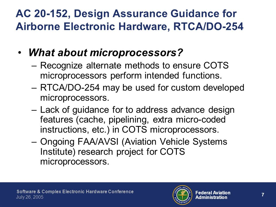 What about microprocessors