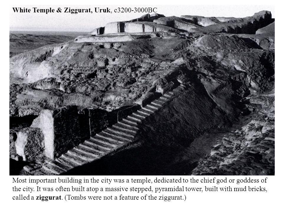 White Temple & Ziggurat, Uruk, c3200-3000BC