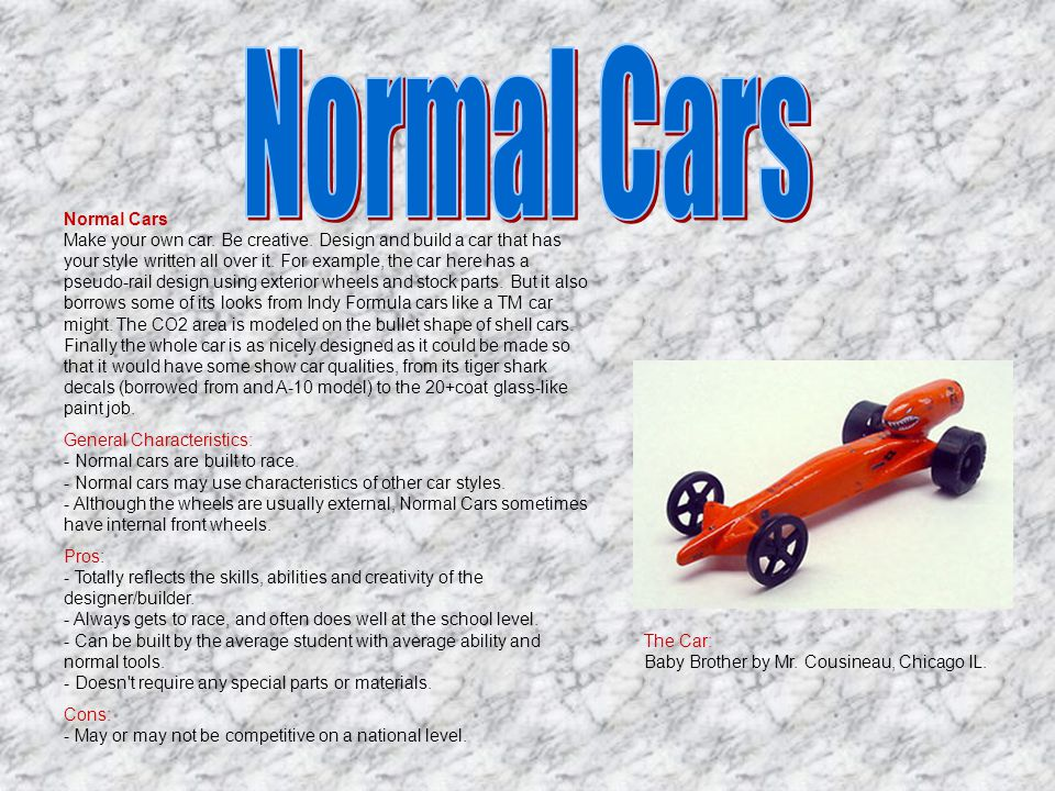 Normal Cars
