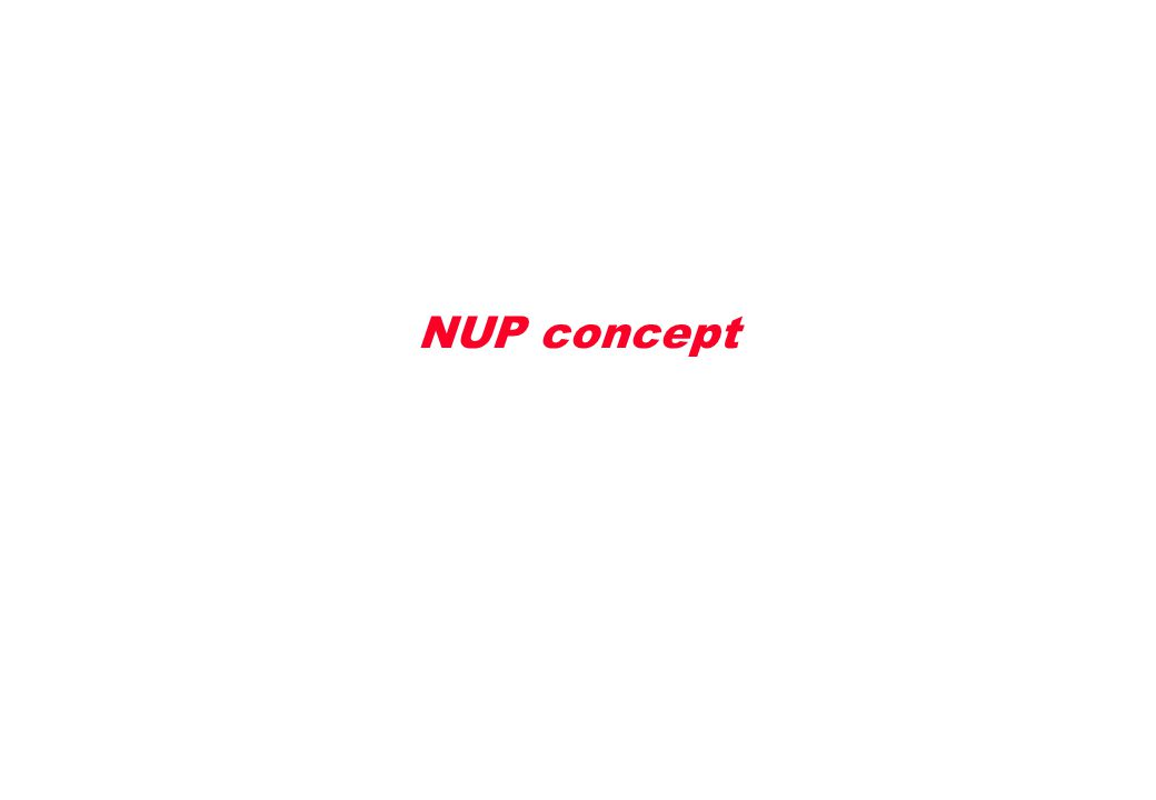 NUP concept