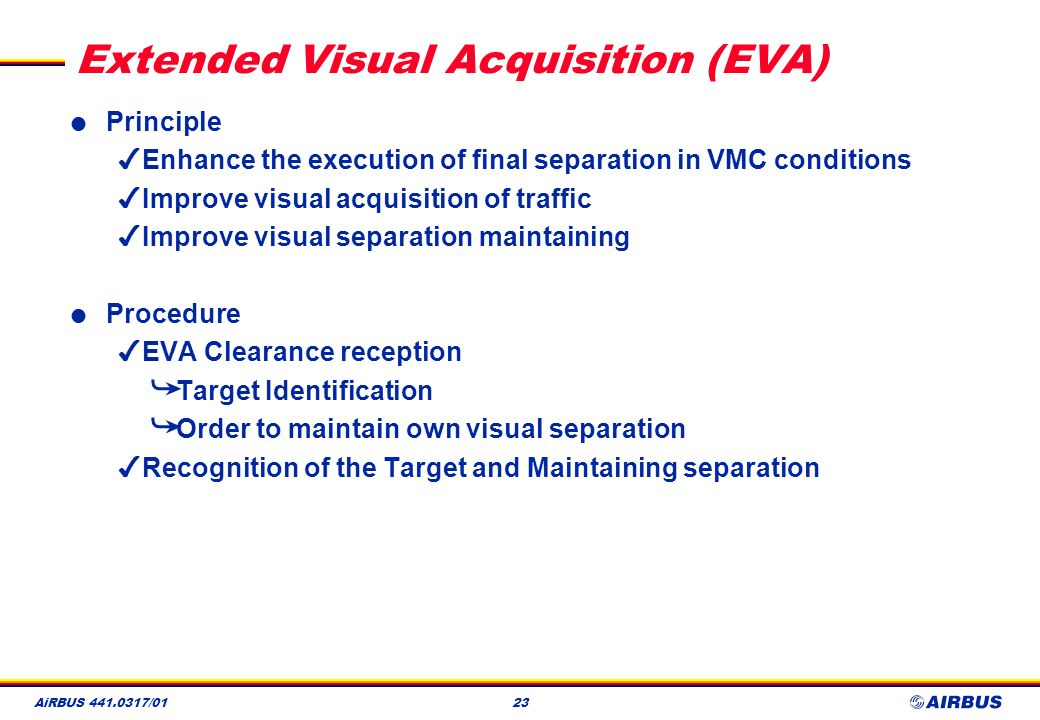 Extended Visual Acquisition (EVA)