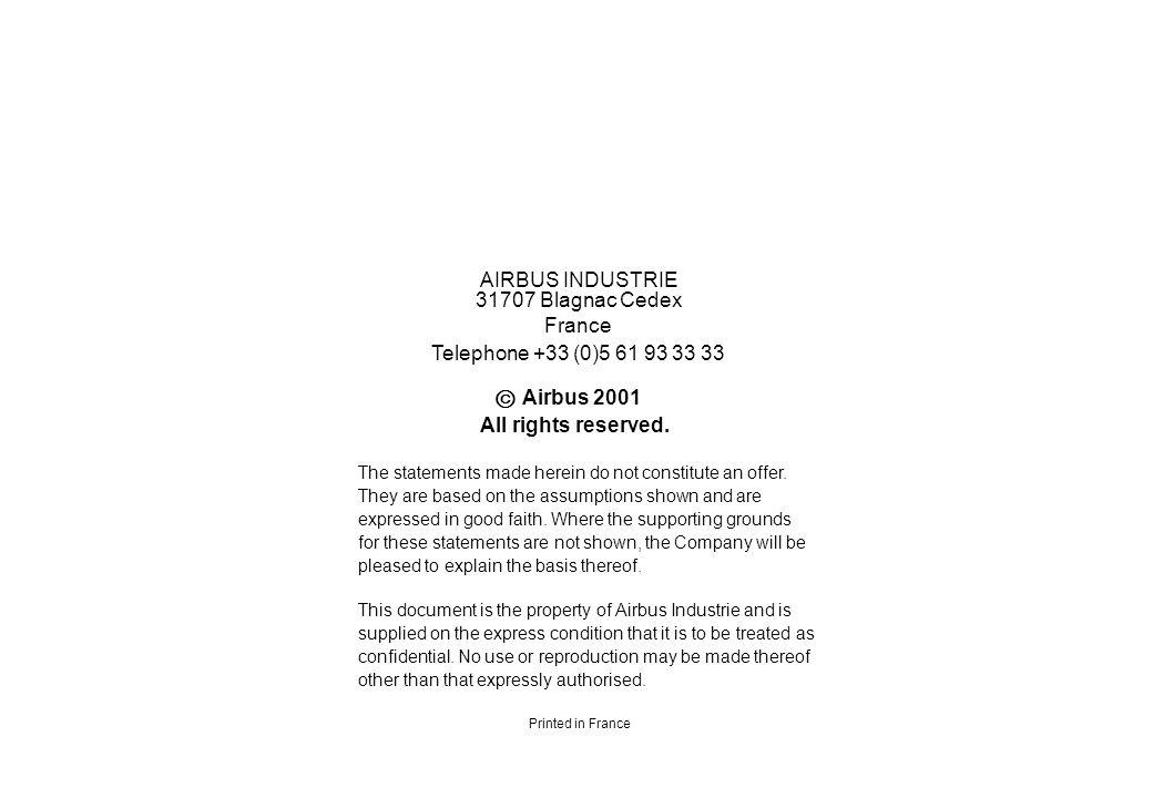  AIRBUS INDUSTRIE 31707 Blagnac Cedex France