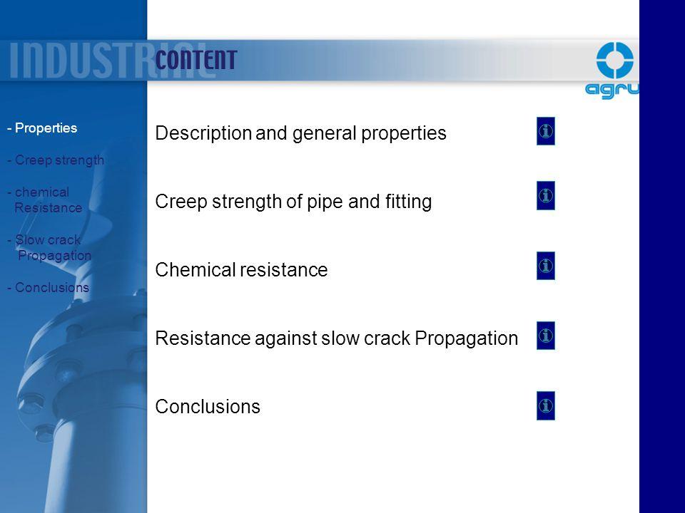 CONTENT Description and general properties