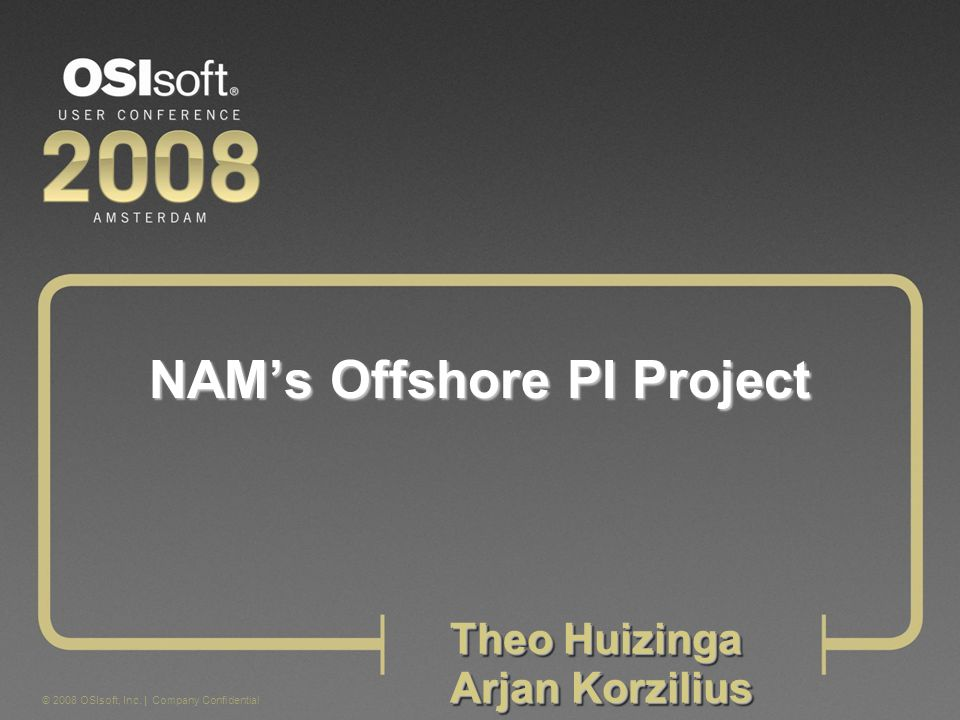 NAM's Offshore PI Project