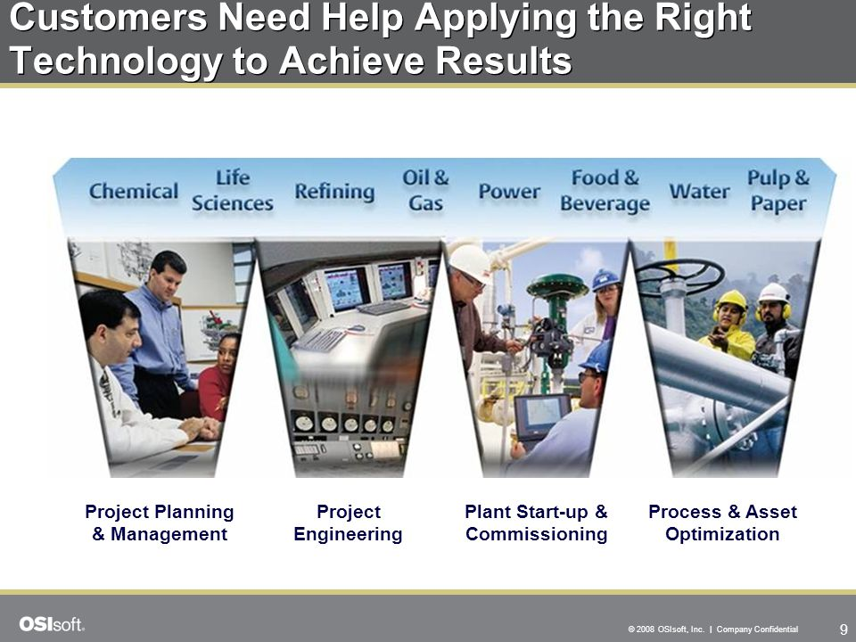 Customers Need Help Applying the Right Technology to Achieve Results