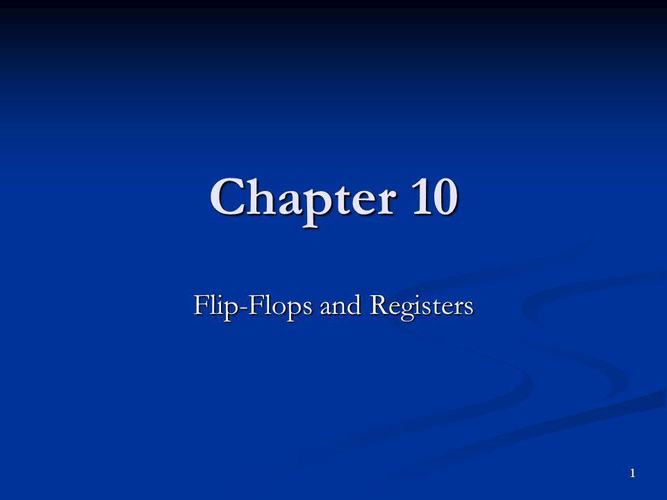 Flip-Flops and Registers