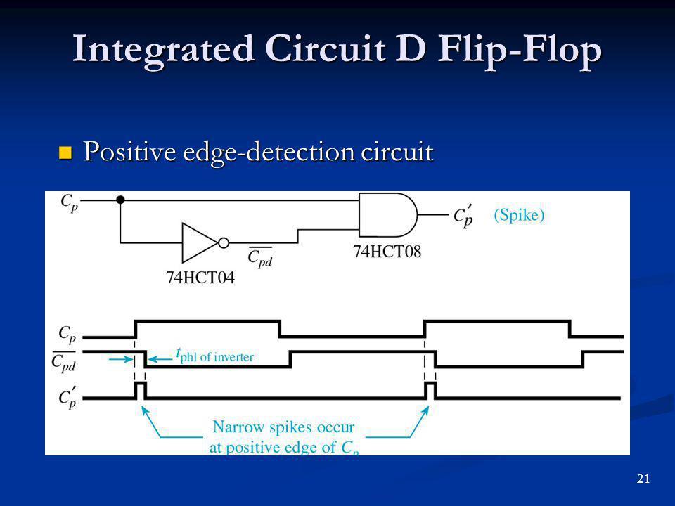 Integrated Circuit D Flip-Flop