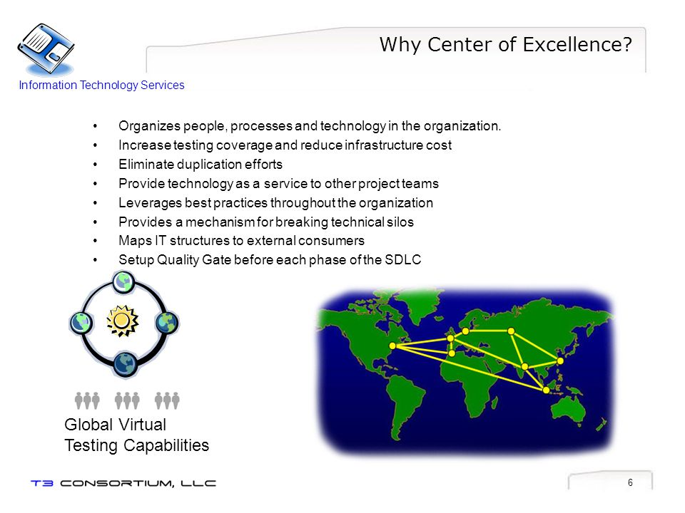 Why Center of Excellence