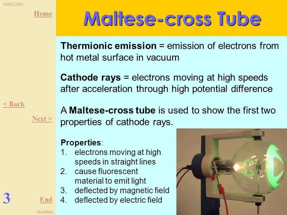 Maltese-cross Tube