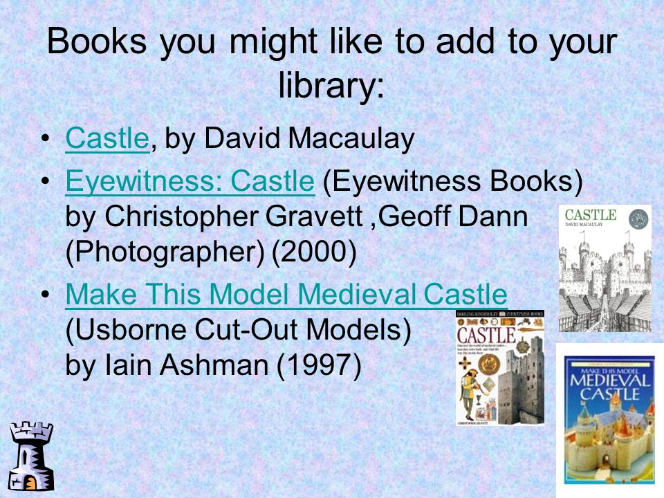 Books you might like to add to your library: