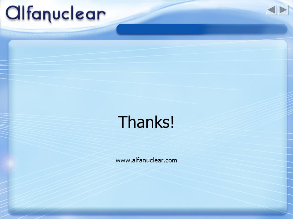 Thanks! www.alfanuclear.com