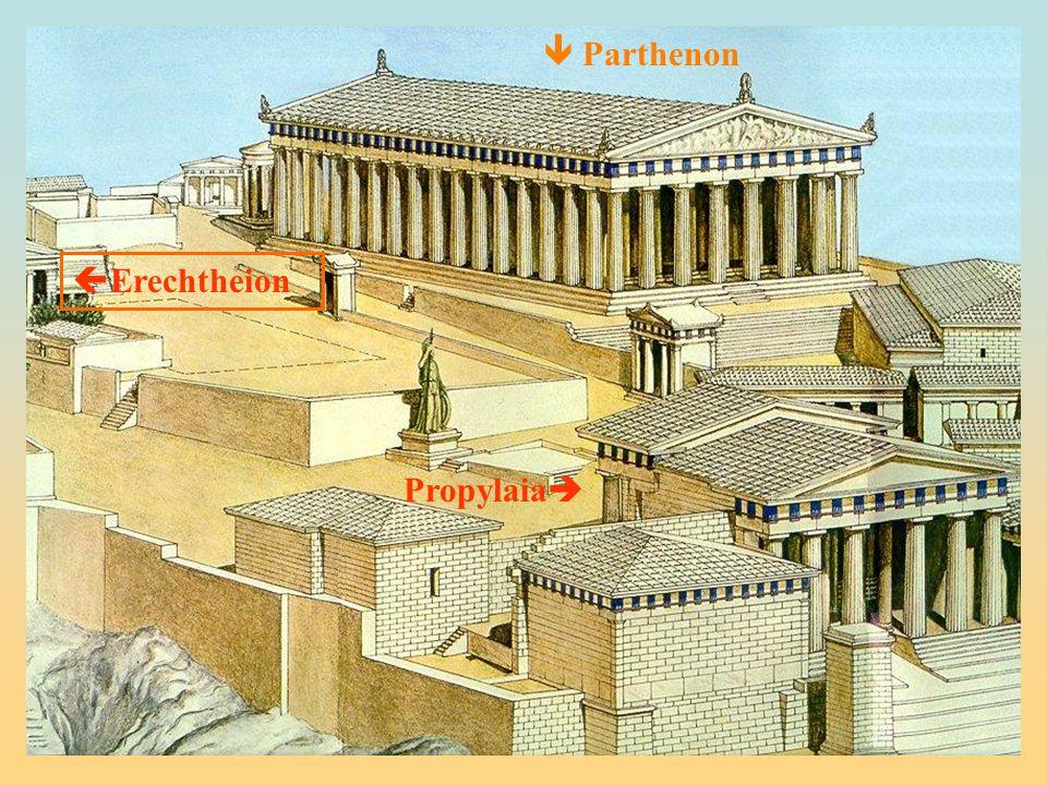  Parthenon Erechtheion Propylaia