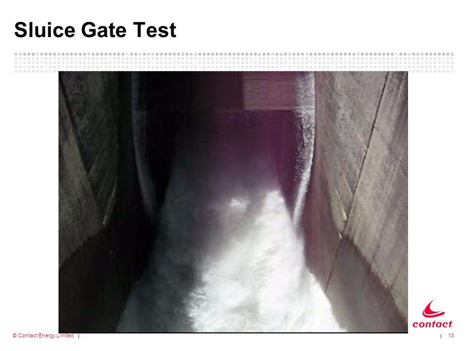 Sluice Gate Test