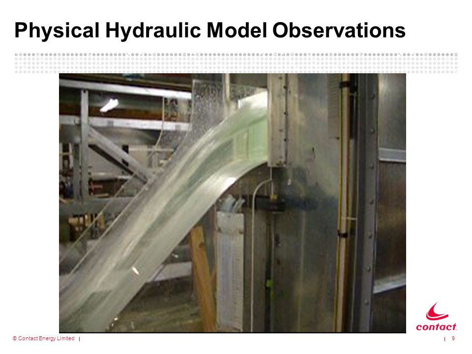 Physical Hydraulic Model Observations