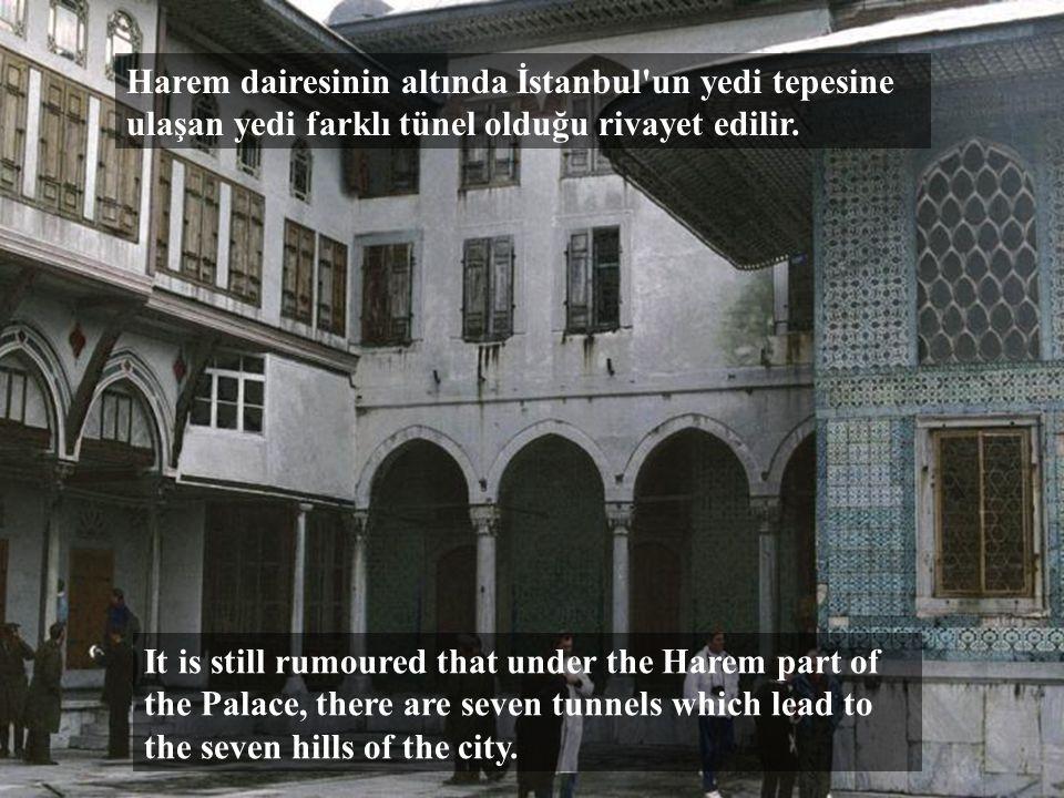 HAREM Osmanlı Padişah eşleri ve annelerinin yaşadığı yer.