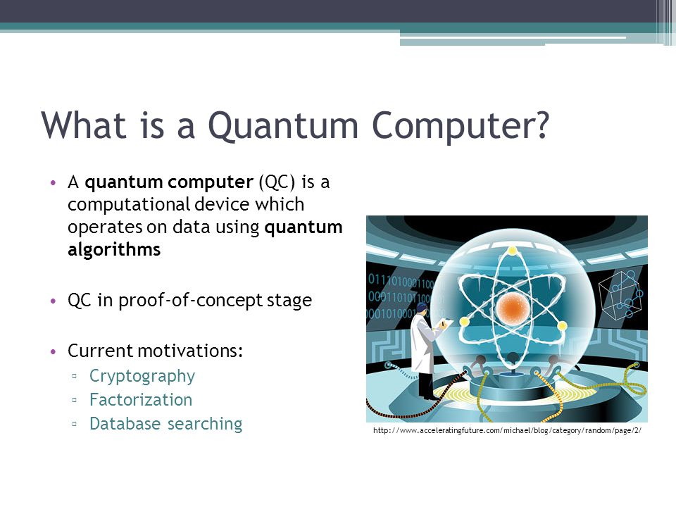 applications of quantum computing pdf