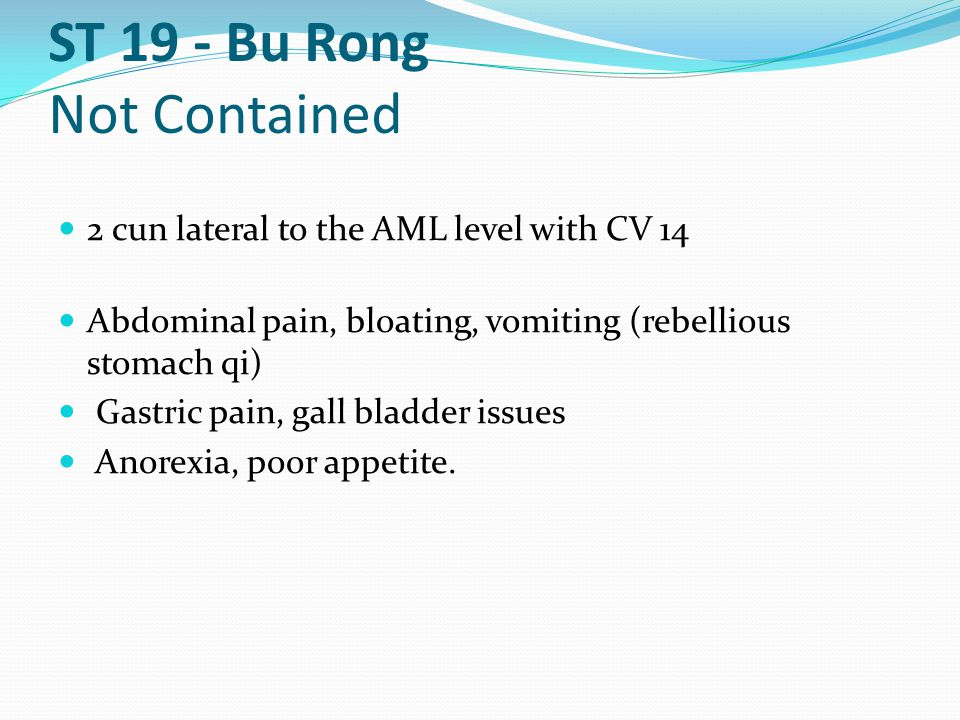 ST 19 - Bu Rong Not Contained