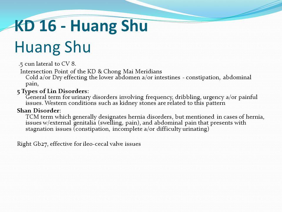 KD 16 - Huang Shu Huang Shu