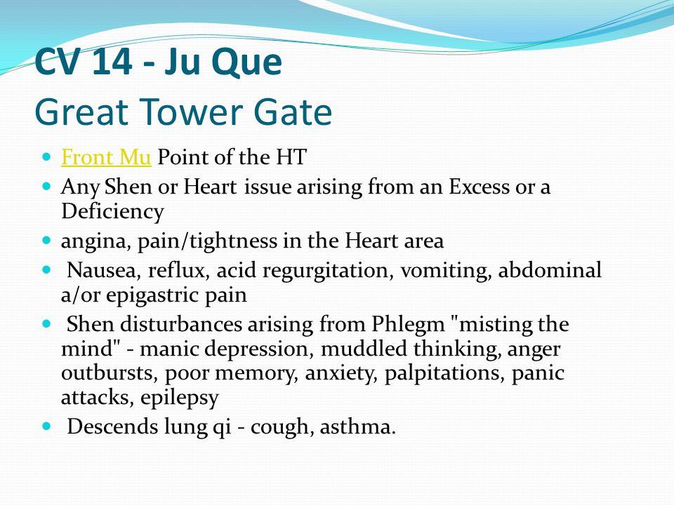CV 14 - Ju Que Great Tower Gate