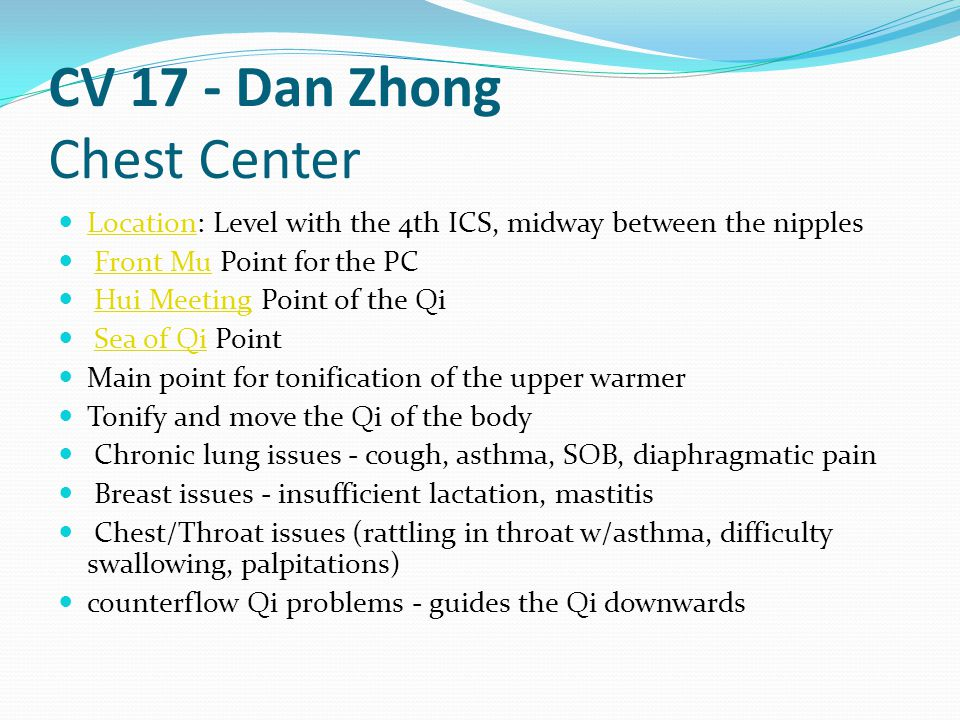 CV 17 - Dan Zhong Chest Center