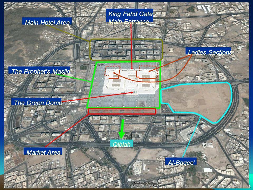 Madinah - Satellite King Fahd Gate Main Entrance Main Hotel Area