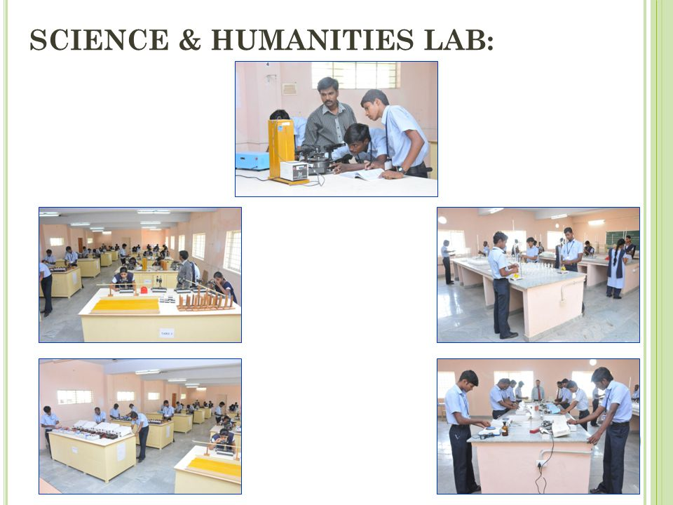 SCIENCE & HUMANITIES LAB: