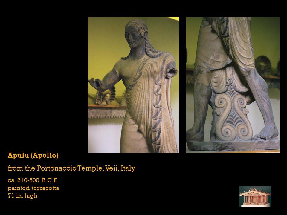 from the Portonaccio Temple, Veii, Italy