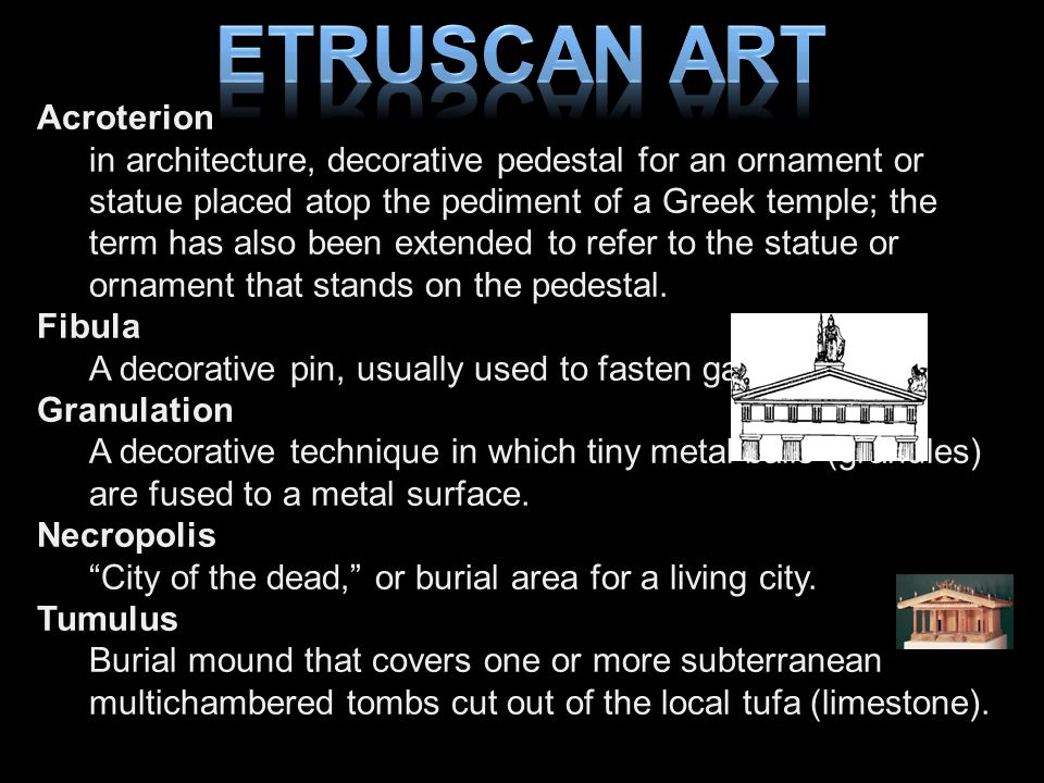 Etruscan Art Acroterion