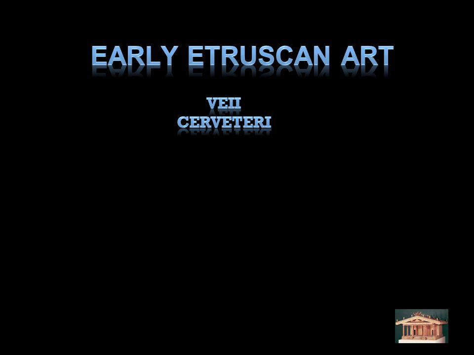 Early Etruscan Art Veii Cerveteri
