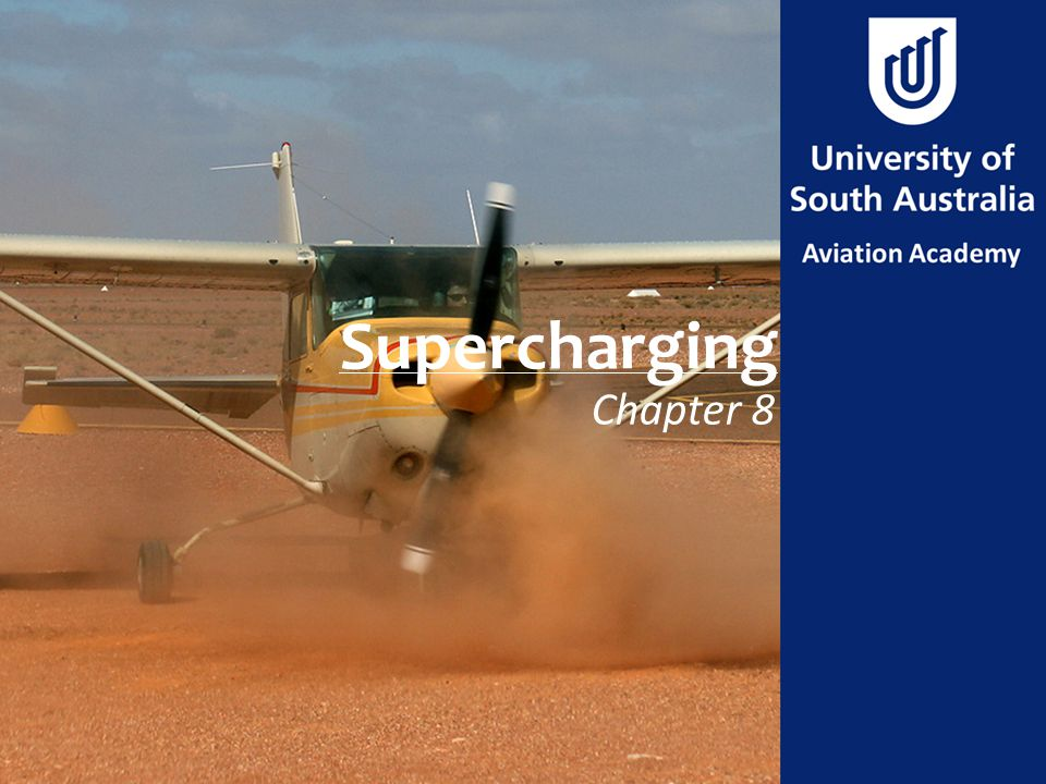 Supercharging Chapter 8