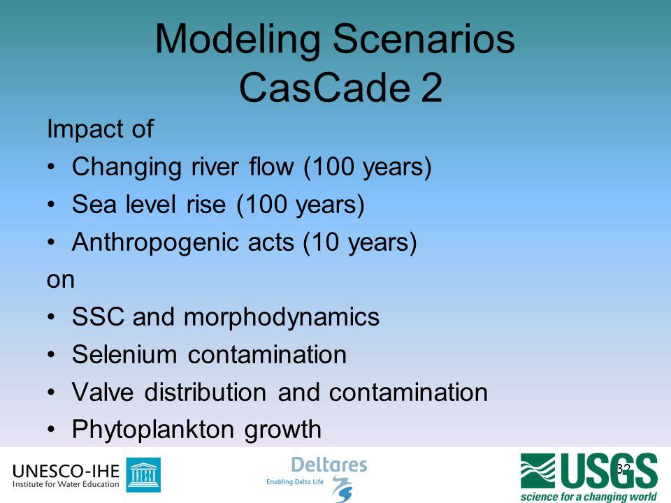 Modeling Scenarios CasCade 2