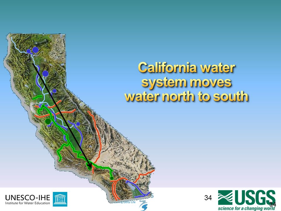 California water system moves water north to south
