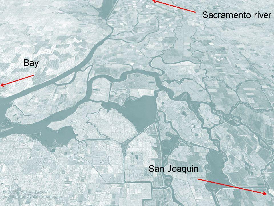Sacramento river Bay San Joaquin