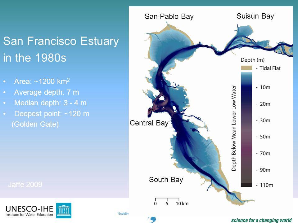 San Francisco Estuary in the 1980s San Pablo Bay Suisun Bay
