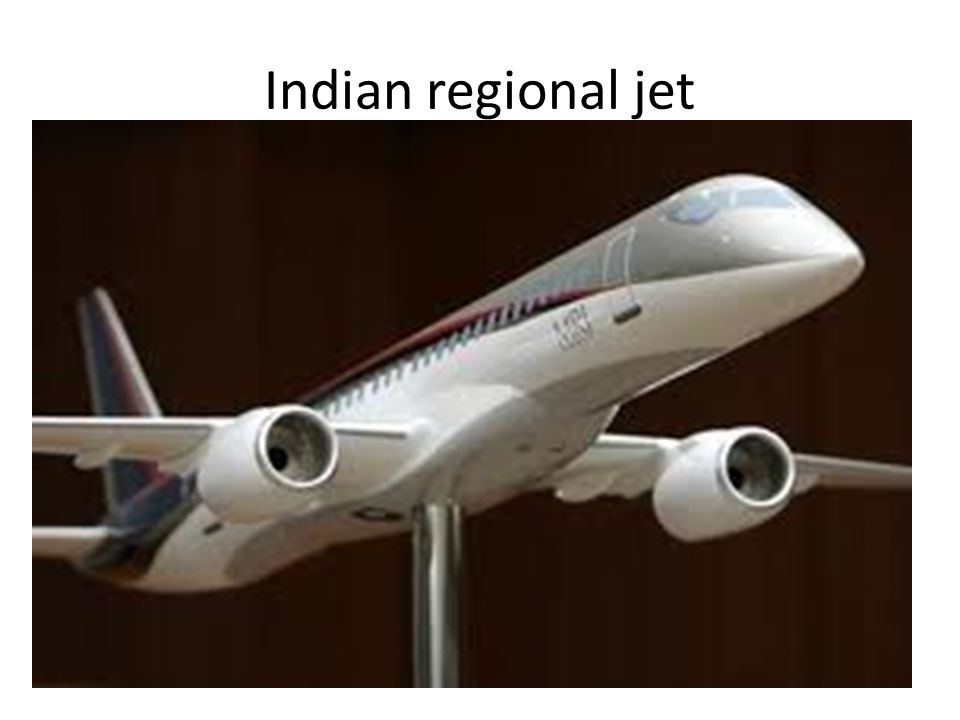 Indian regional jet