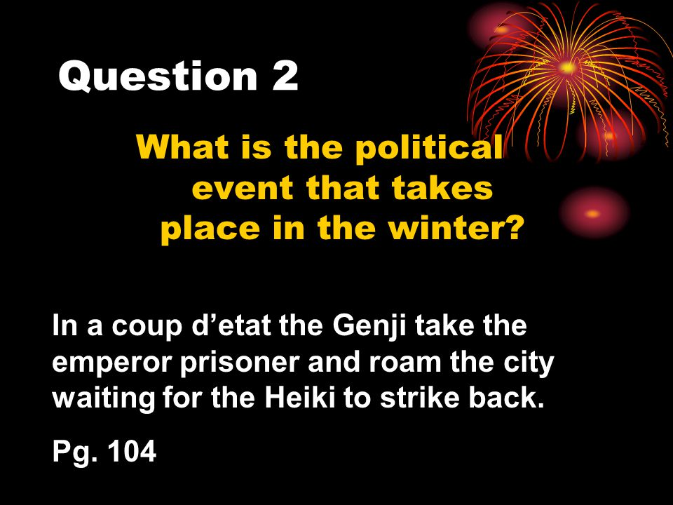 What is the political event that takes place in the winter