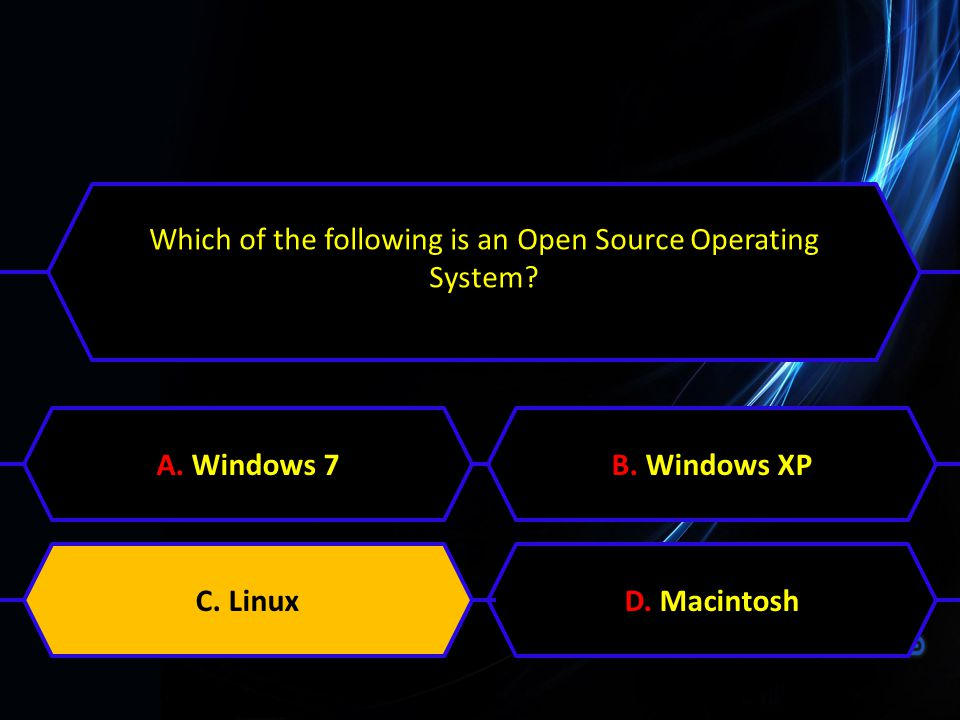 Which of the following is an Open Source Operating System