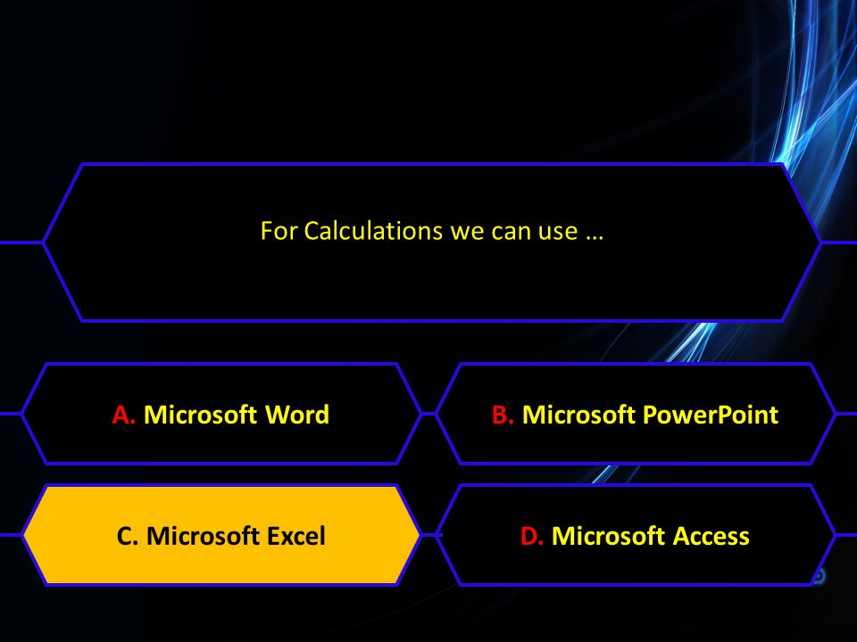 B. Microsoft PowerPoint