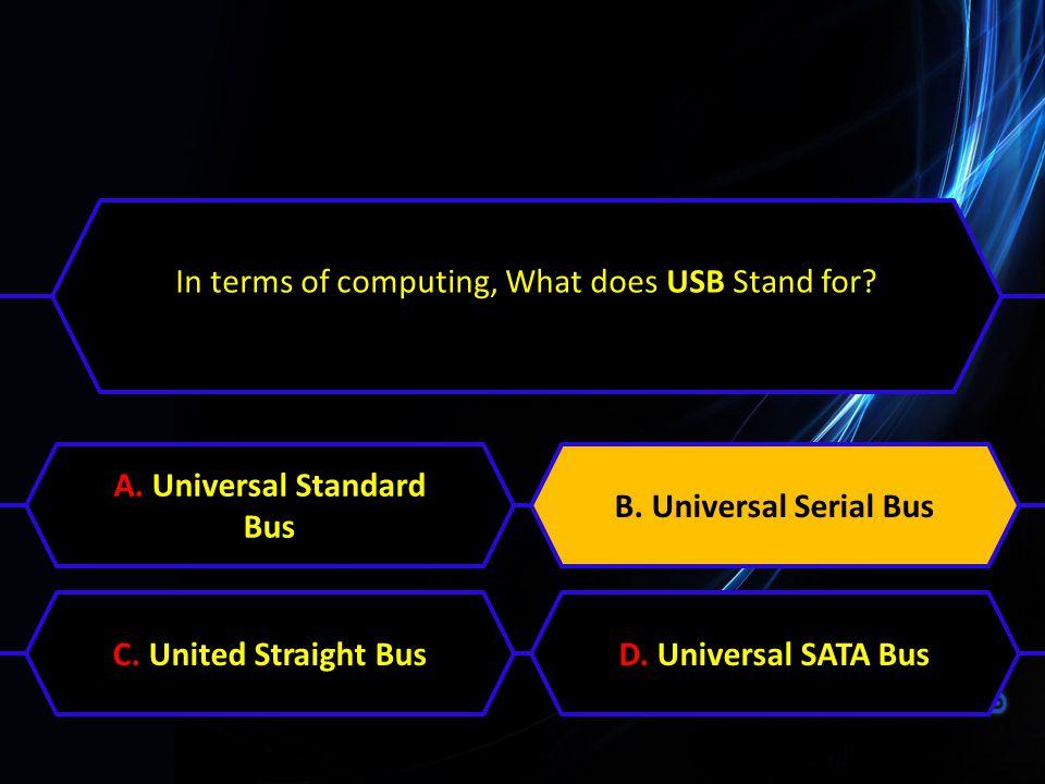 A. Universal Standard Bus