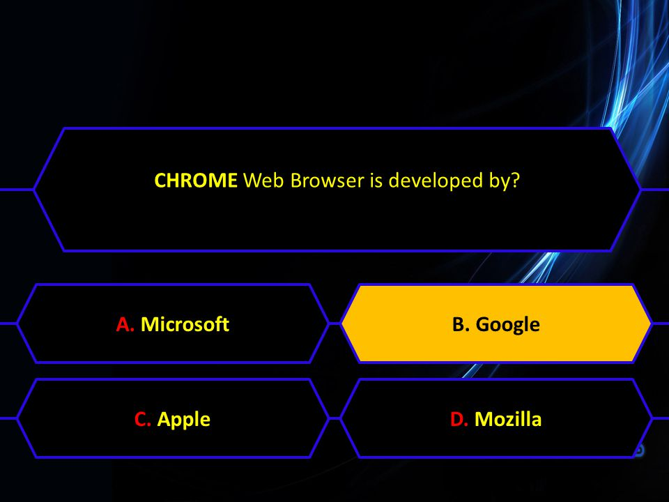 CHROME Web Browser is developed by