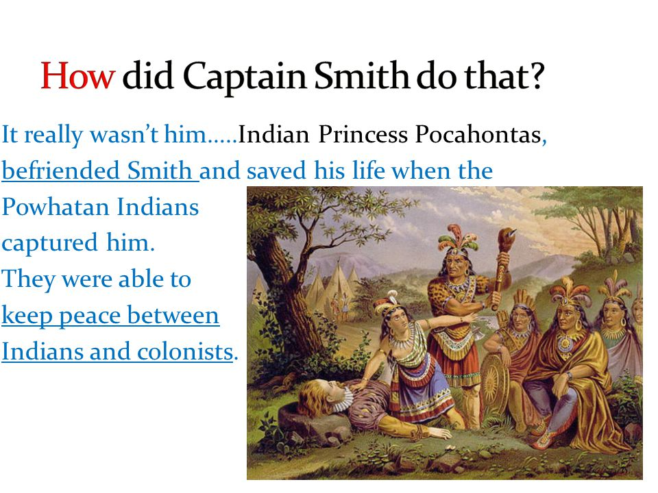 How did Captain Smith do that