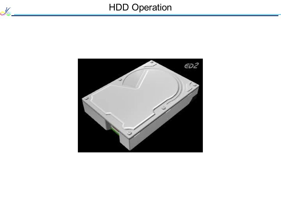 HDD Operation 10