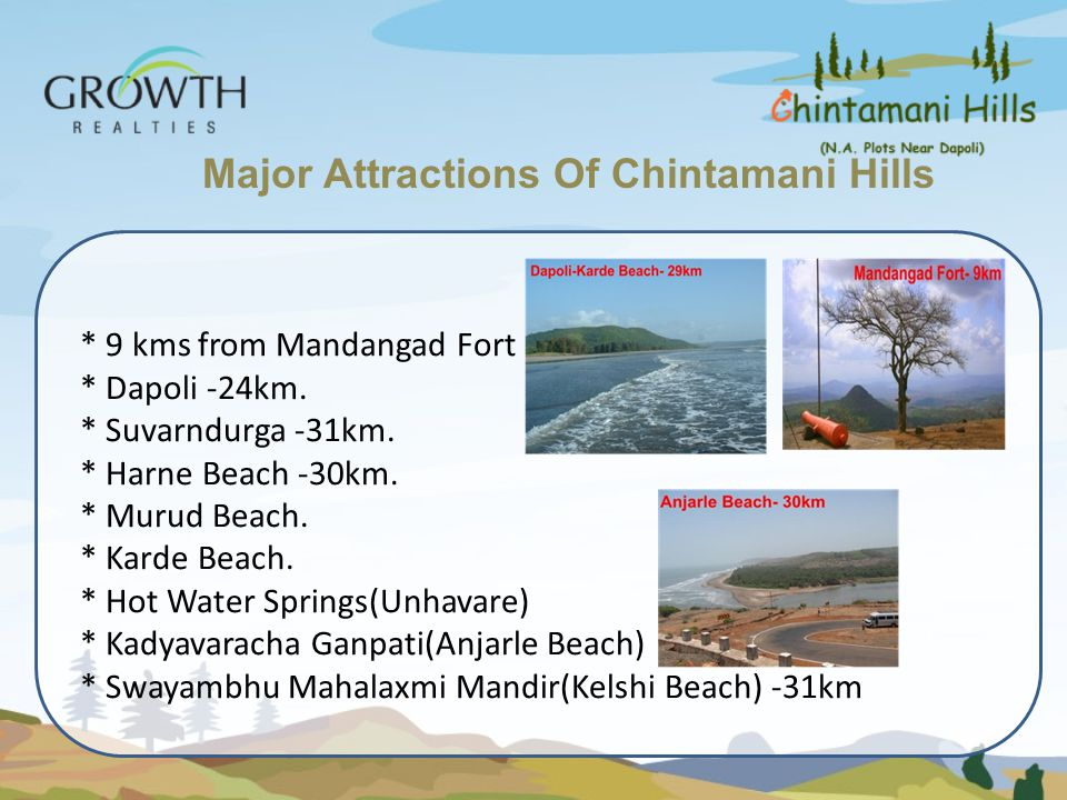 Major Attractions Of Chintamani Hills