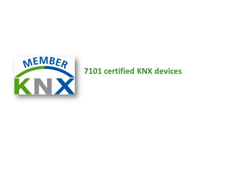 7101 certified KNX devices