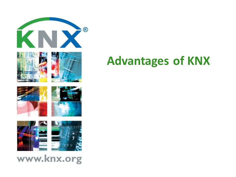 Advantages of KNX