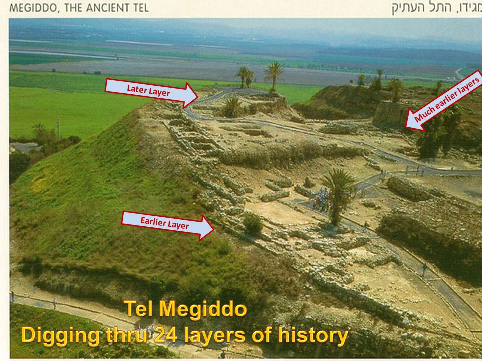 Tel Megiddo Digging thru 24 layers of history