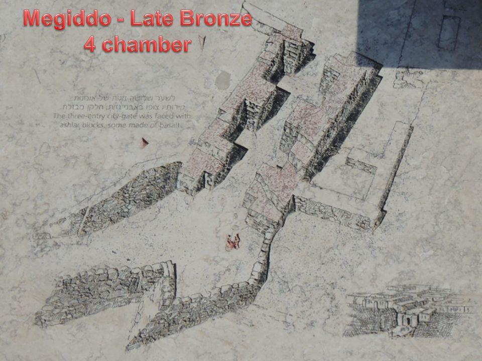 Megiddo - Late Bronze 4 chamber