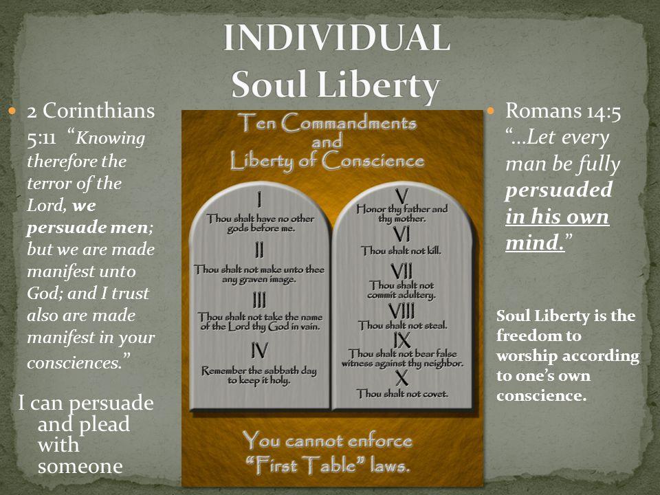 INDIVIDUAL Soul Liberty